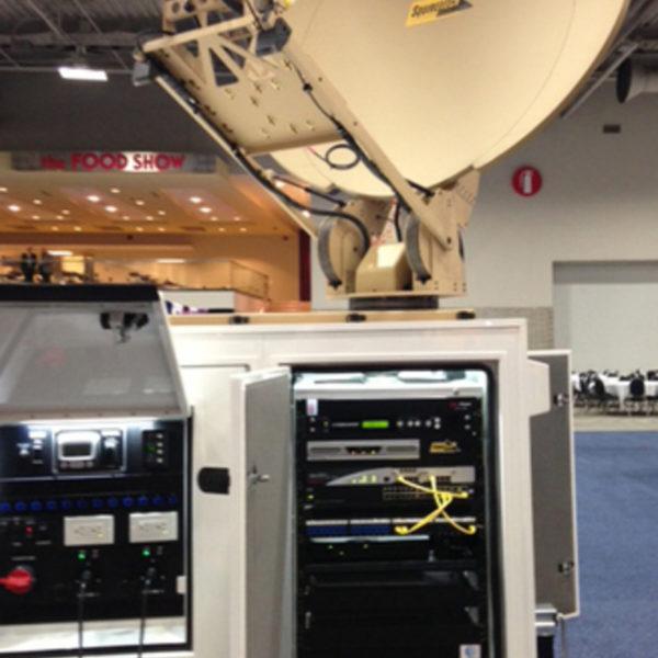 1.2m Vehicle-Mount / DriveAway Premium SNG/MIL Antennas