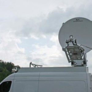 Vehicle Mount Antennas 2.4m Vehicle-Mount / DriveAway Premium SNG/MIL AntennasSNG