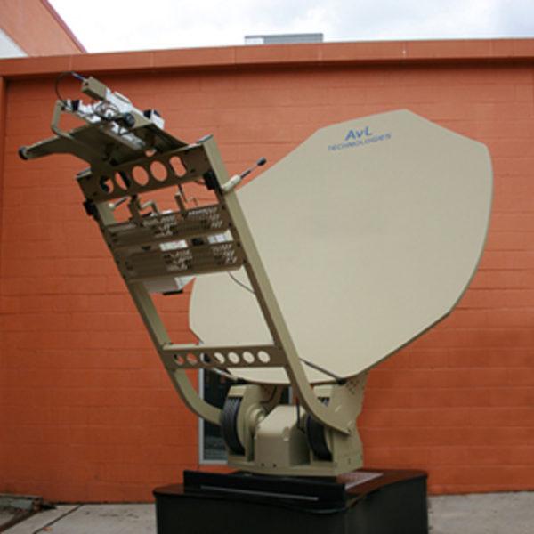 2.5m Vehicle/Trailer-Mount / DriveAway Premium SNG/MIL WGS-Ready Antenna