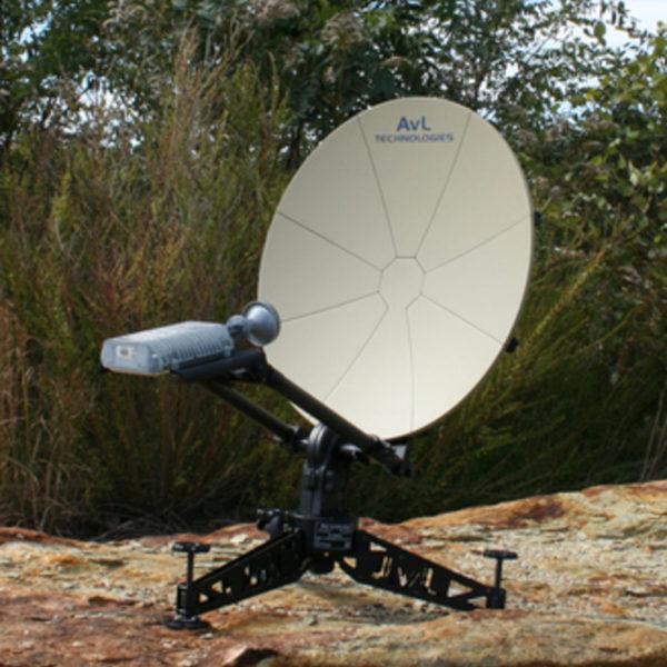 60cm Manual Backpack FlyAway SNG/Mil Antenna