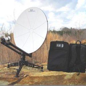 Flyaway Antennas 85cm Manual Backpack FlyAway SNG/Mil AntennaSNG