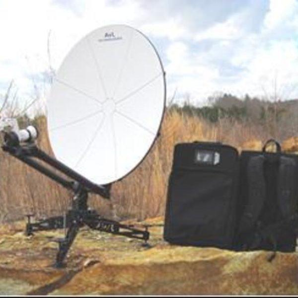 85cm Manual Backpack FlyAway SNG/Mil Antenna