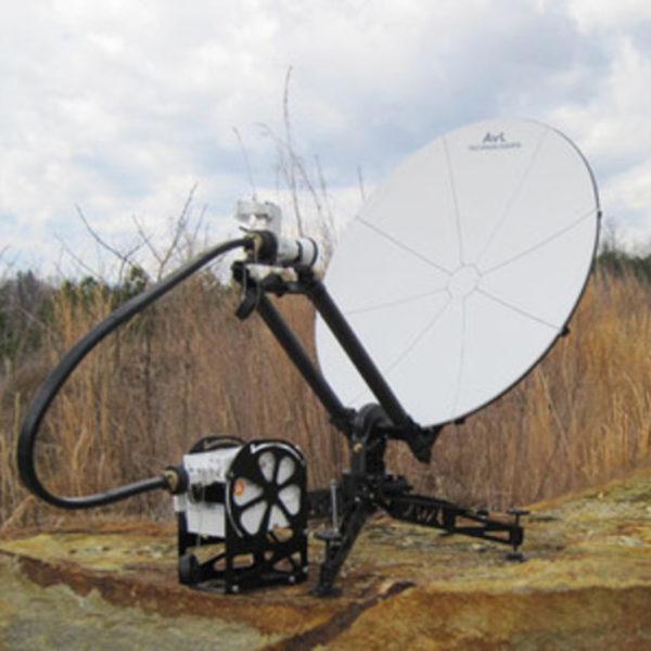 1.0m Manual FlyAway SNG/Mil Antenna