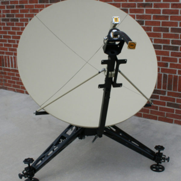1.2m Medium Class Manual FlyAway SNG/Mil Antenna