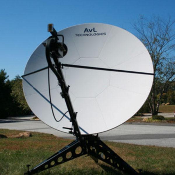 2.4m Manual FlyAway SNG/Mil Antenna