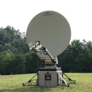 Flyaway Antennas Model 1.2m 1050FA SNG/Mil Tri-Band Motorized FlyAway AntennaSNG