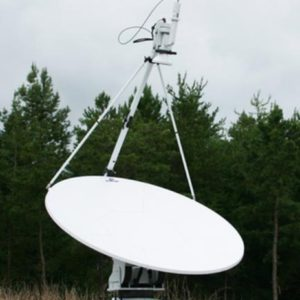 Flyaway Antennas Model 2.0m 2020FA FlyAway SNG/Mil Quad-Band Motorized FlyAway AntennaSNG