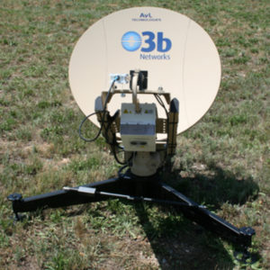 SNG Antennas AvL / O3b Model 870 85cm Motorized SNG AntennaLEO / MEO Tracking