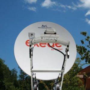 Mobile VSAT Antennas Models 880KVH / 1080KVH / 1280KVH