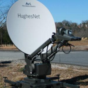 Mobile VSAT Antennas Models 1010KVH / 1210KVH