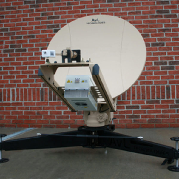 85cm LEO / MEO Tracking Ka-Band FlyAway Antenna