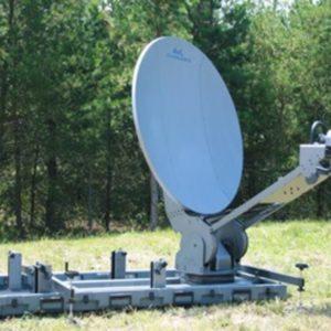 Flyaway Antennas Model 1.2m 1210FD FlyAway or DriveAway Premium SNG AntennaSNG
