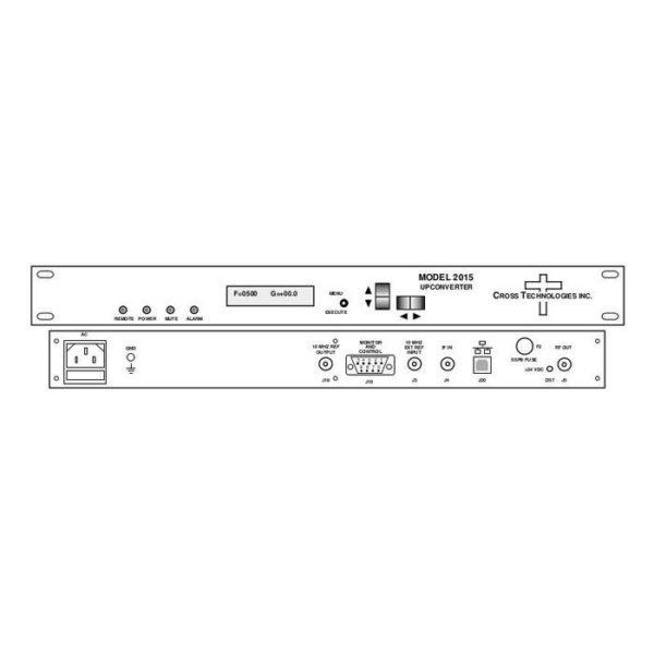 Upconverter 70±18MHz 500-1000MHz