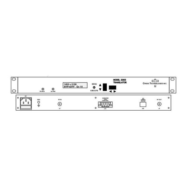 L-Band Channel Translator 950-1650 or 500-750MHz