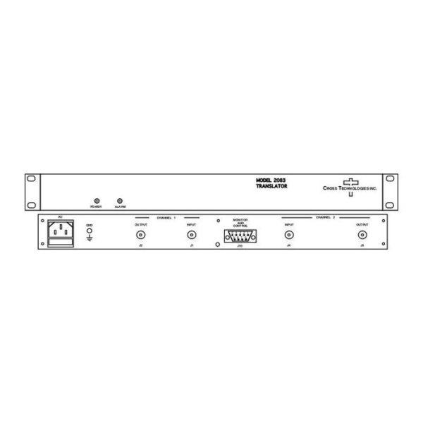 Dual Translator 1.725-2.175GHz 0.95-1.4GHz-Non-inverting