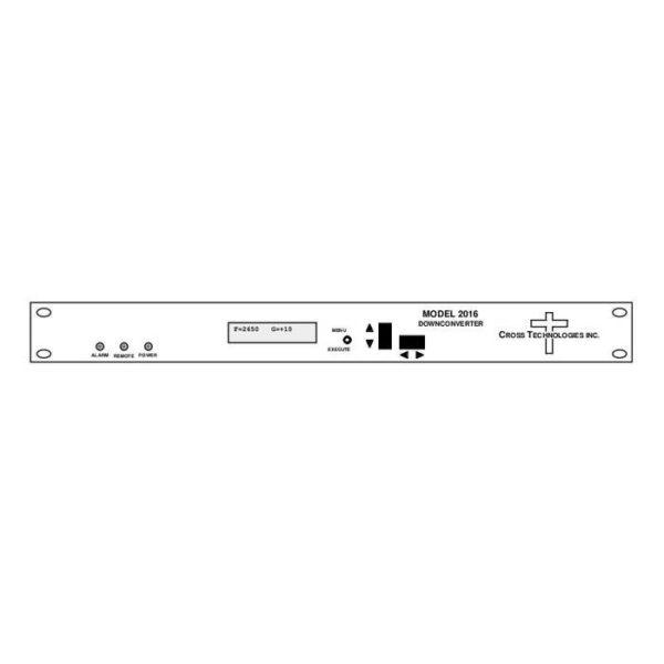 Downconverter 2.5-2.7GHz 70±18MHz in 1 MHZ Steps