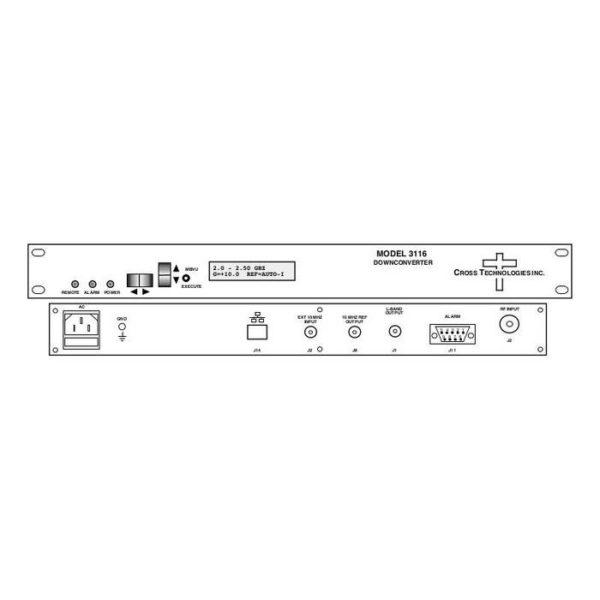 Block Downconverter 2.0-2.5GHz 0.95-1.45GHz