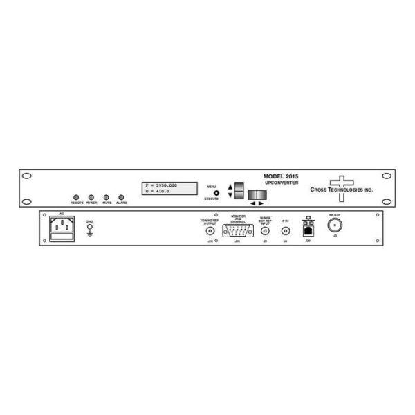 Upconverter 140±36MHz 5.845-6.725GHz 125kHz Steps