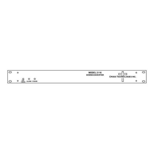 Block Downconverter 3.4-4.2GHz 0.95-1.75GHz