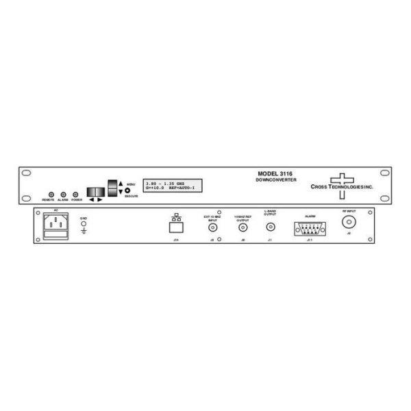 Block Downconverter 3.40-4.20GHz 0.95-1.75GHz