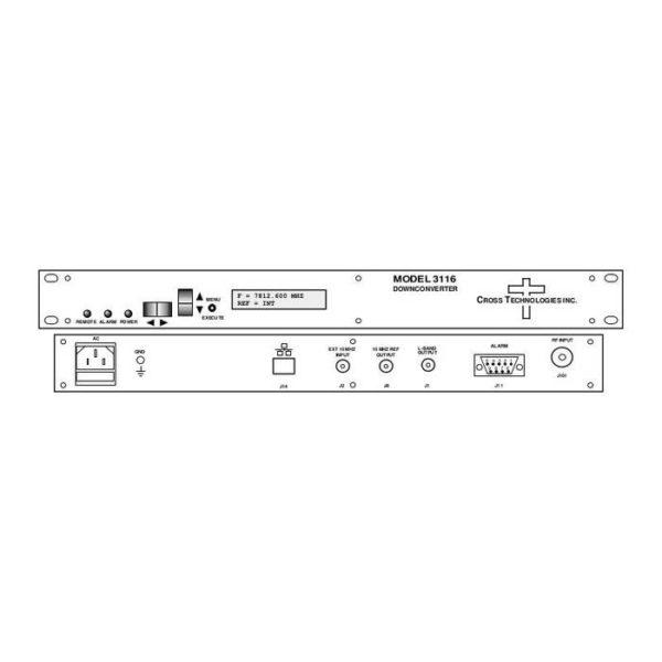 Block Downconverter 7.75-8.45GHz 1200±20MHz