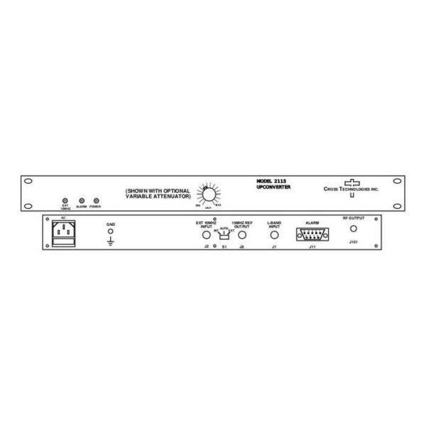 Block Upconverter 0.95-1.70GHz 13.75-14.5GHz