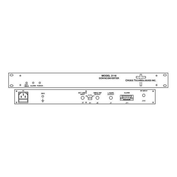 Block Downconverter 11.7-12.2GHz 0.95-1.45GHz