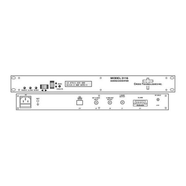 Block Downconverter 12.2-12.75GHz 0.95-1.50GHz