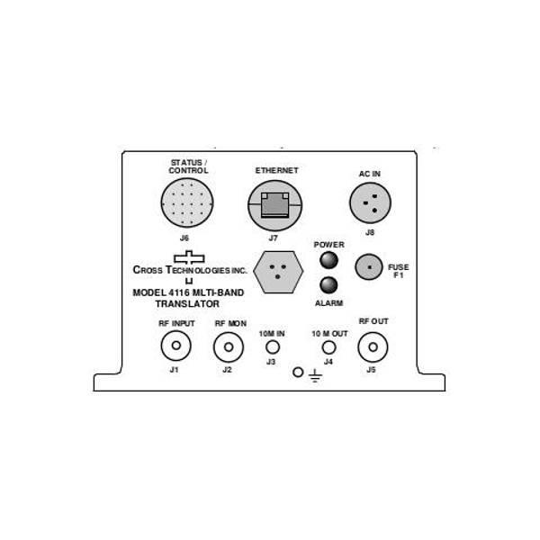 Multi-Band Translator 1-3 input RF bands 1-3 output RF bands