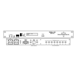 Converters Switch External Reference Protection Dual 10MHz