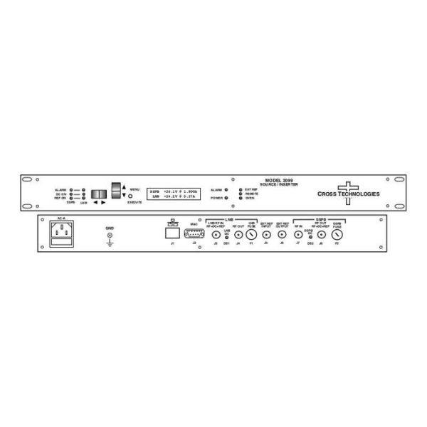Frequency Source/Inserter 10MHz 24V