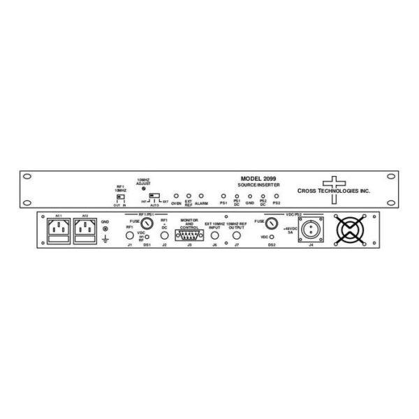 Frequency Source/Inserter +48VDC +24VDC 10MHz