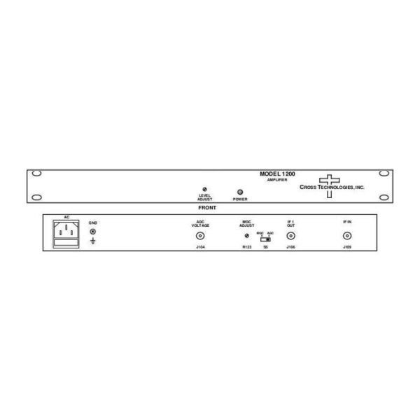AGC Amplifier 250-750MHz