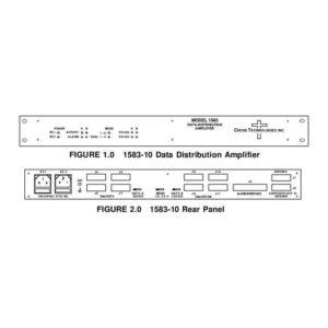 Amplifiers Data Distribution Amplifier