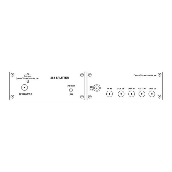 L-Band Splitter 8-way w/ Monitor NO LNB Power