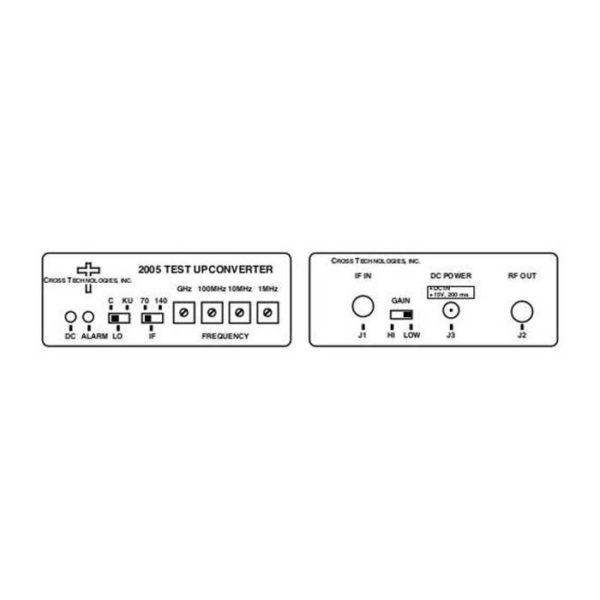 Upconverter 70/140MHz 950-2050MHz