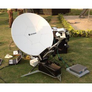 Flyaway Antennas CF100 7 Segment Carbon Fibre FlyawayVSAT|Rx/Tx|DSNG Broadcast