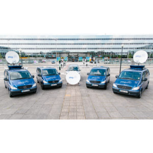 Vehicle Mount Antennas Holkirk RM120 Vehicle MountMobile VSAT|Rx/Tx|DSNG Broadcast