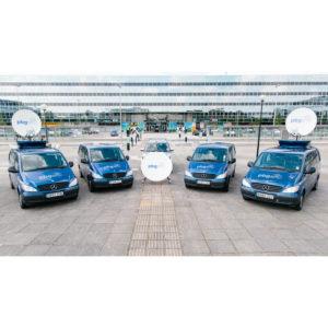 Vehicle Mount Antennas Holkirk RM120 Vehicle MountMobile VSAT|Rx/Tx|DSNG Broadcast