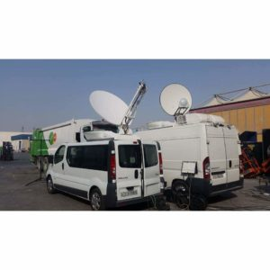 Vehicle Mount Antennas Holkirk RM150 Vehicle MountMobile VSAT|Rx/Tx|DSNG Broadcast