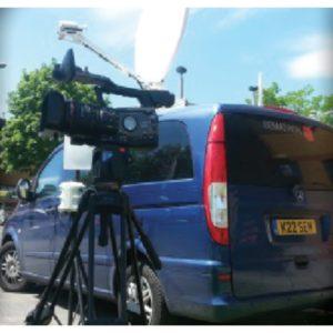 Vehicle Mount Antennas Quick2CONNECT Multi-bearer News Gathering SolutionVSAT|DSNG Broadcast