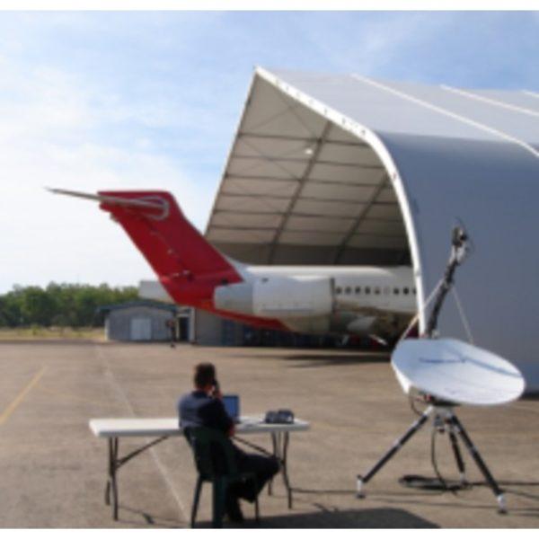 Holkirk TP120v 1.2m Segmented VSAT Flyaway