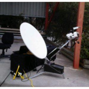 Flyaway Antennas Holkirk CF100v 1.0m Segmented VSAT FlyawayVSAT|Rx/Tx