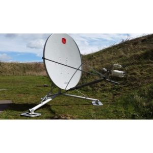 Flyaway Antennas QDV90/120 0.9/1.2m Single Piece Quick DeployableVSAT|Rx/Tx