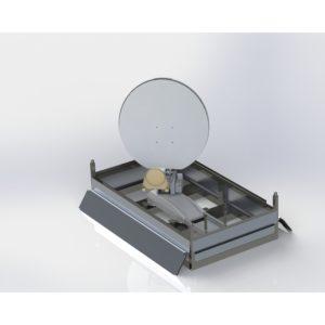 VSAT Antennas Holkirk VM120 Skid 1.2m Skid Based VSATVSAT|