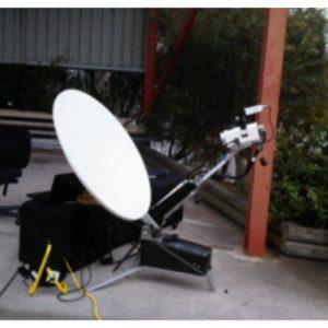 Flyaway Antennas CF100 1.0m Tri-band X