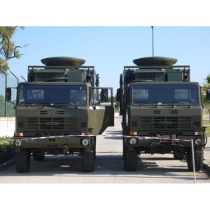 Vehicle Mount Antennas DRM150 1.5m Dual Band X & Ku Vehicle MountMobile VSAT|Rx/Tx