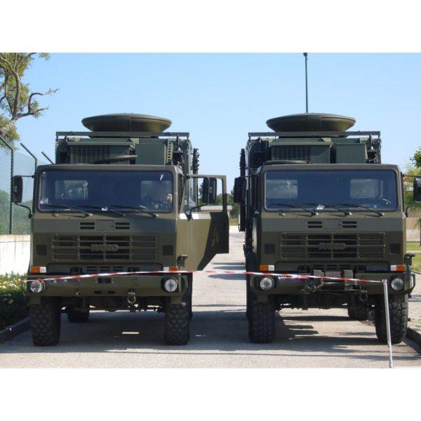 DRM150 1.5m Dual Band X & Ku Vehicle Mount