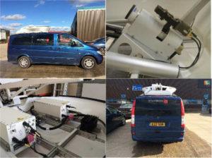 Holkirk DRM150 1.5m Dual Band X & Ku Vehicle Mount