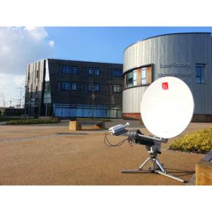 Flyaway Antennas TP100 Ka 1.0m Segmented Carbon Fibre FlyawayVSAT|Rx/Tx
